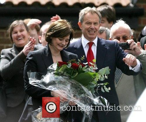 Leaving the Trimdon Labour club after announcing his...