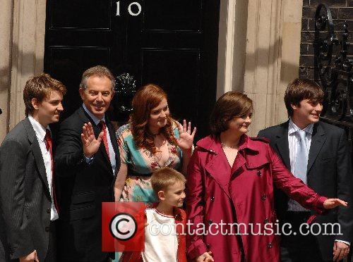Tony Blair Cherie Kathryn