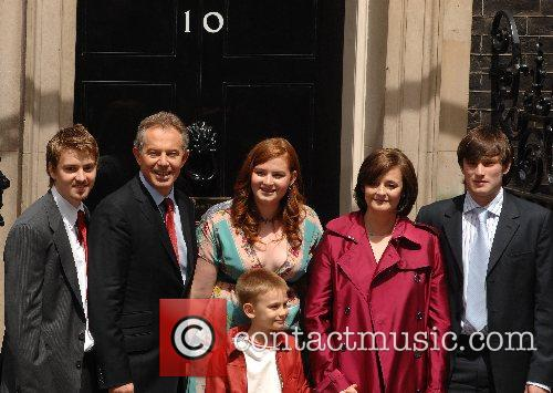 Tony Blair Family