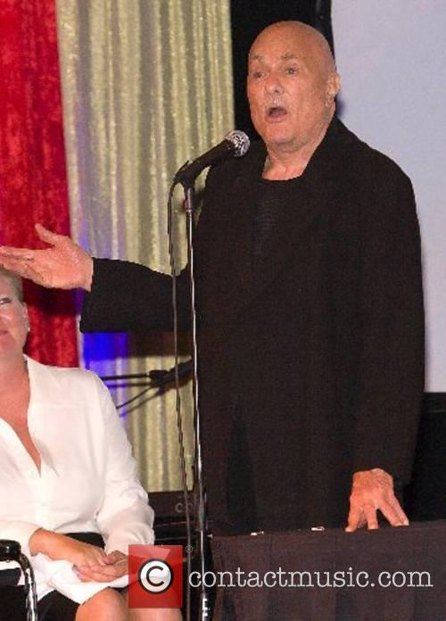 Tony Curtis celebrates his 82nd birthday at the...