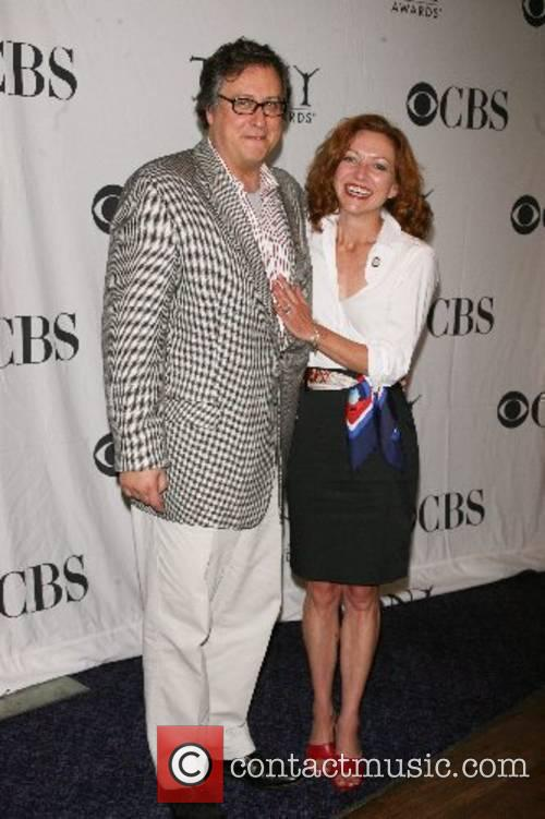 Douglas Carter Beane and Julie White Press reception...