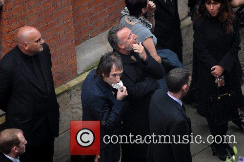 The funeral of Tony Wilson, the founder of...