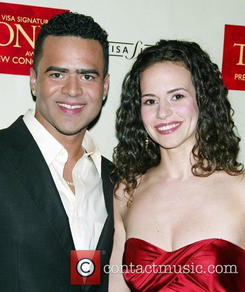 Christopher Jackson, Mandy Gonzalez The Visa Signature Tony...