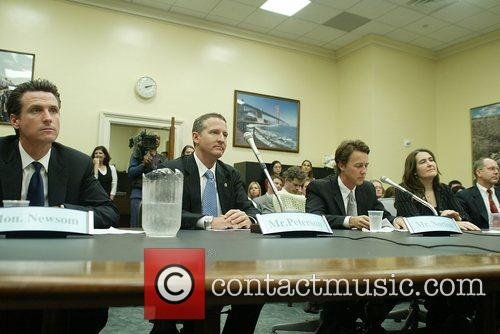 San Francisco Mayor Tony Newsom testified on greening...