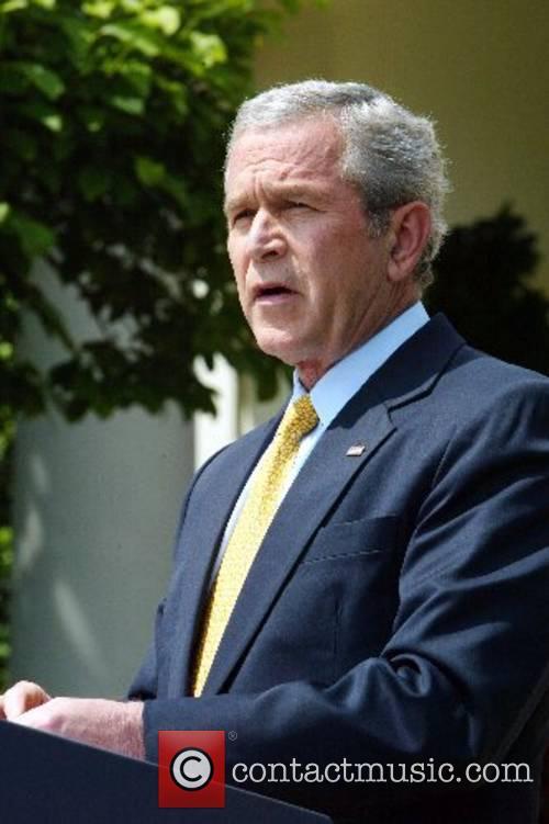 US President George W Bush Prime Minister Tony...