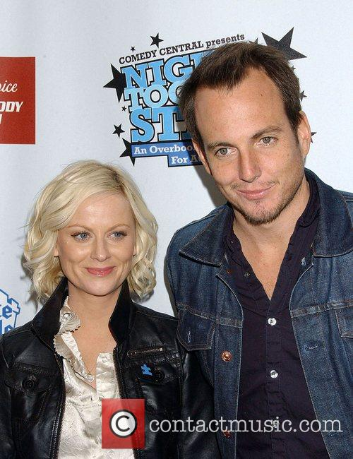 Amy Poehler and Will Arnett 1