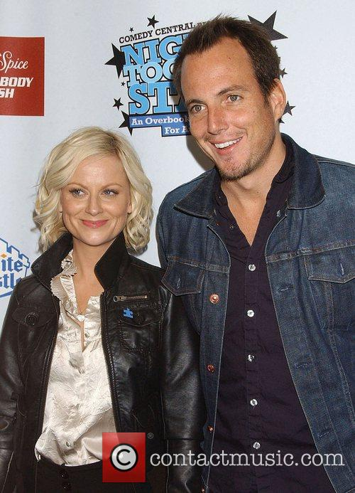 Amy Poehler and Will Arnett 2