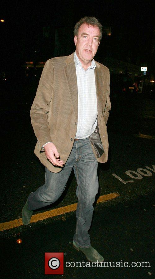 Jeremy Clarkson arriving at the Top Gear awards...