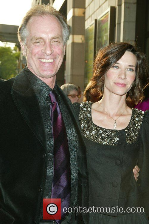 Keith Carradine and his wife Hayley Dumond Opening...