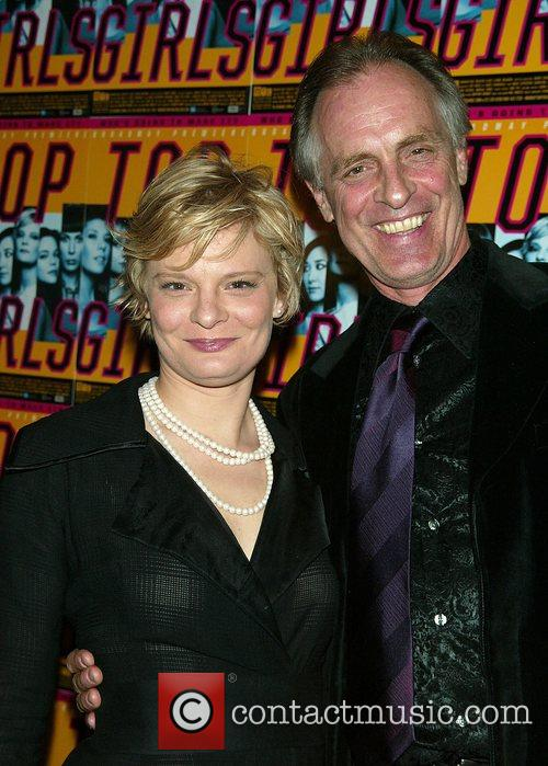 Martha Plimpton and her father Keith Carradine Opening...