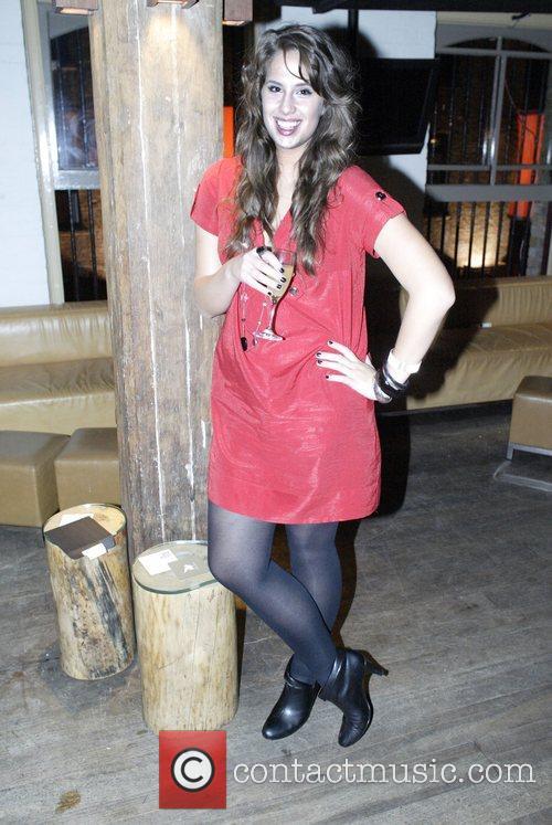 Lauren Davidson Australia's Next Top Model party for...