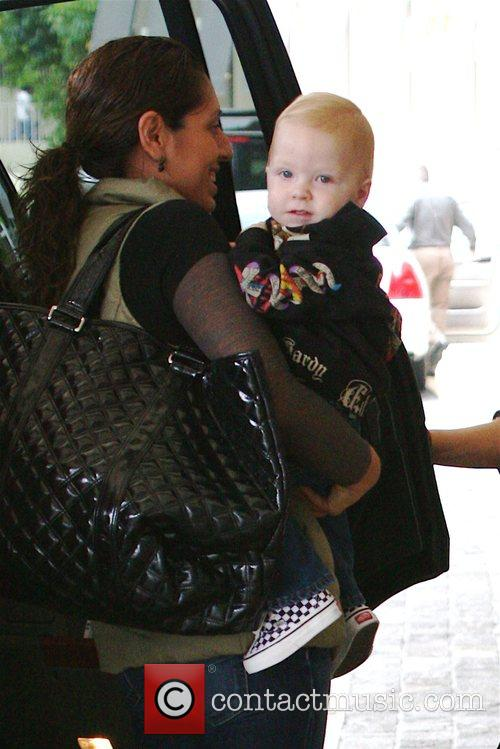 Tori Spelling and Her Son Liam Mcdermott 2