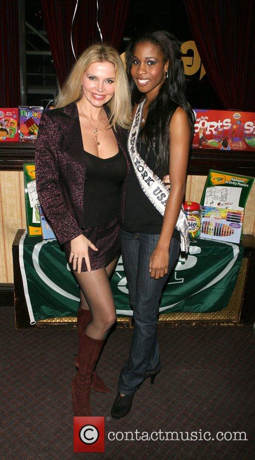 Dr Victoria Zdrok and Miss NY 2008 Danielle...