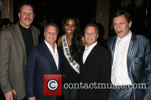 Ed English, Larry Helfast, Miss NY 2008 Danielle...