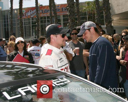 Drew Lachey and Nick Lachey Toyota Long Beach...