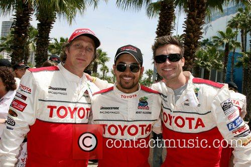 William Fitchner, Wilmer Valderamma and Daniel Godddard Toyota...