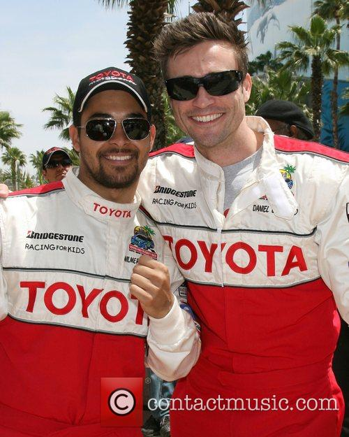 Wilmer Valderamma and Daniel Godddard Toyota Long Beach...