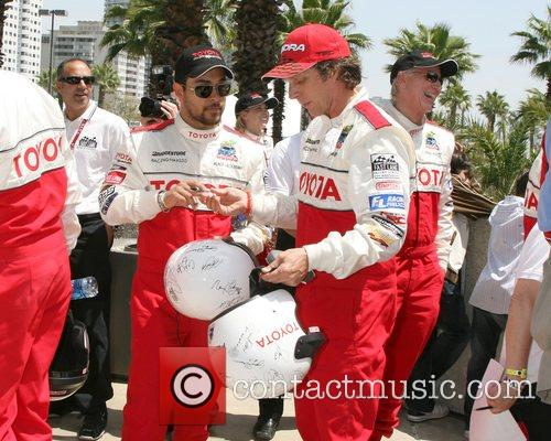 Wilmer Valderamma and William Fitchner Toyota Long Beach...