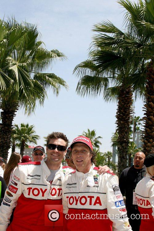 Daniel Goddard and William Fitchner Toyota Long Beach...