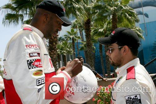 John Salley and Wilmer Valderamma Toyota Long Beach...