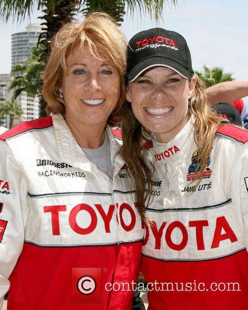 Nancy Lieberman and Jamie Little Toyota Long Beach...