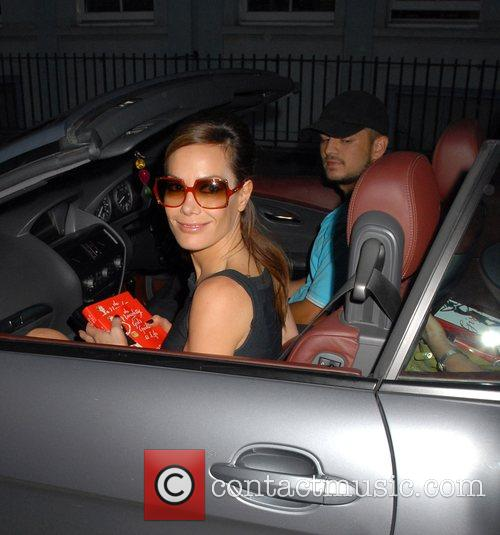 Tara Palmer-Tomkinson  arriving at 'The Naughty Girl's...