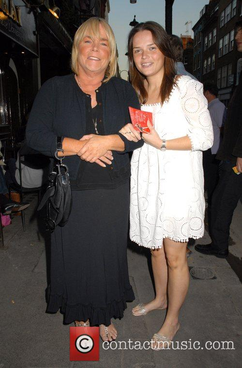 Linda Robson arriving at 'The Naughty Girl's Guide...