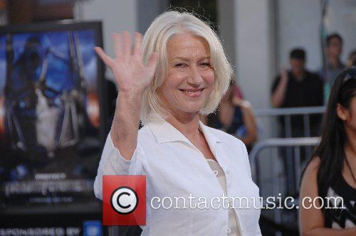 Helen Mirren Premiere of 'Transformers' held at the...