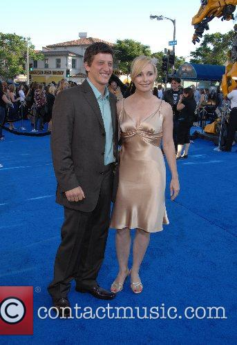 Josh Fineman and guest Premiere of 'Transformers' held...