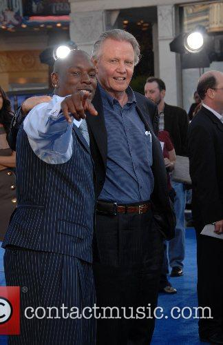 Tyrese and Jon Voight Premiere of 'Transformers' held...