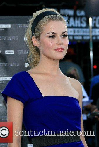 Rachael Taylor Premiere of 'Transformers' held at the...