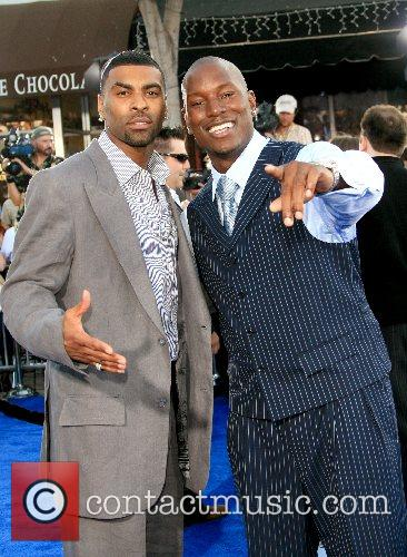 Ginuwine and Tyrese Gibson Premiere of 'Transformers' held...