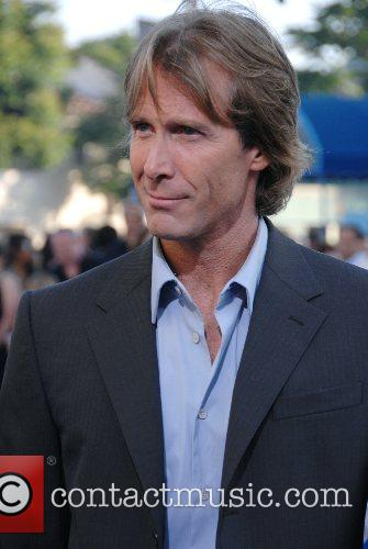 Michael Bay Los Angeles premiere of 'Transformers' held...