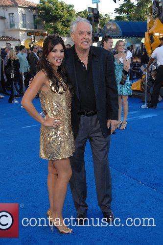 Adrianna Costa and Gary Marshall Los Angeles premiere...