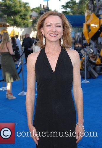 Julie White Los Angeles premiere of 'Transformers' held...