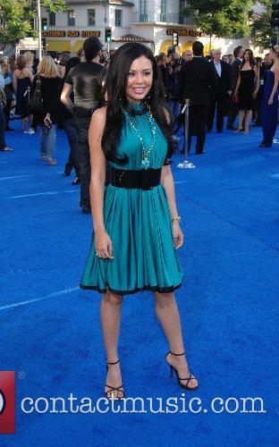 Janel Parrish Los Angeles premiere of 'Transformers' held...