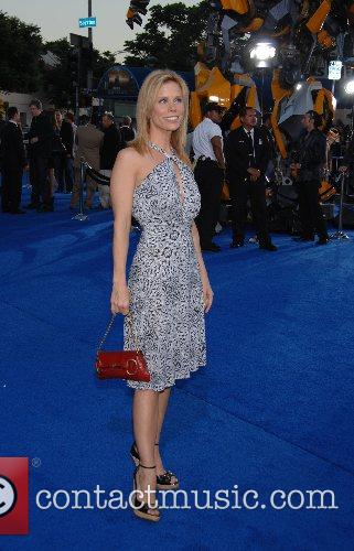 Cheryl Hines Los Angeles premiere of 'Transformers' held...