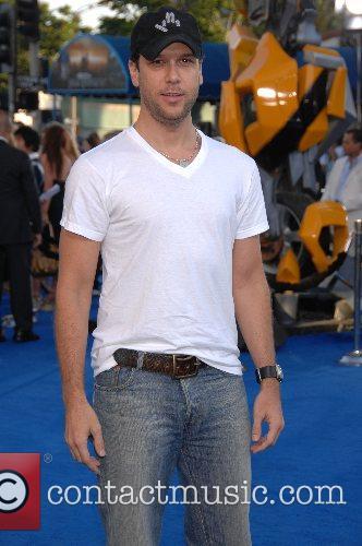 Dane Cook Los Angeles premiere of 'Transformers' held...