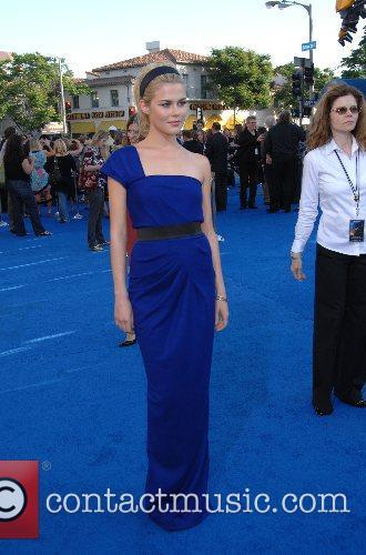 Rachel Taylor Los Angeles premiere of 'Transformers' held...