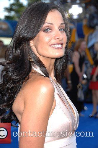 Dayanara Torres Los Angeles premiere of 'Transformers' held...
