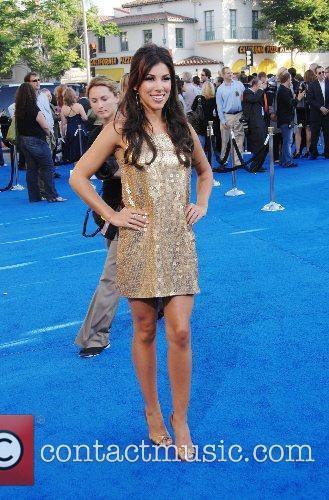 Adrianna Costa Los Angeles premiere of 'Transformers' held...