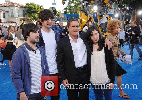 Brad Grey and his family Los Angeles premiere...