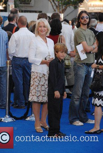 Helen Mirren Los Angeles premiere of 'Transformers' held...