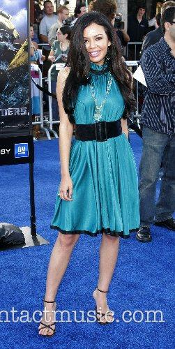 Janel Parrish Premiere of 'Transformers' held at the...