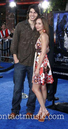 Brandon Routh and guest Premiere of 'Transformers' held...