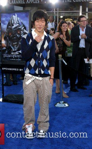 Aaron Yoo Premiere of 'Transformers' held at the...