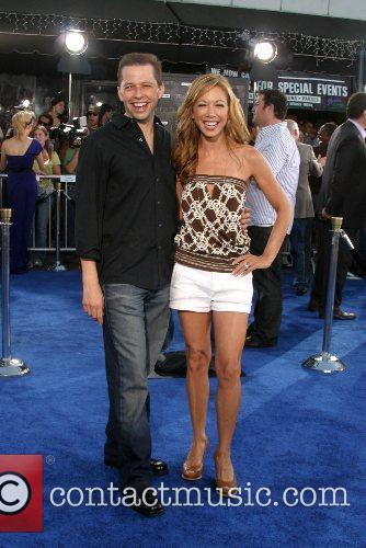Jon Cryer and wife Lisa Joyner Premiere of...
