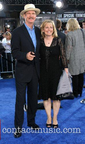 Michael O'Neill & Wife Premiere of 'Transformers' held...
