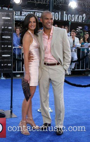Dayanara Torres and Amuary Nolasco Premiere of 'Transformers'...