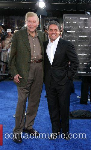 Sumner Redstone and Brad Grey Premiere of 'Transformers'...